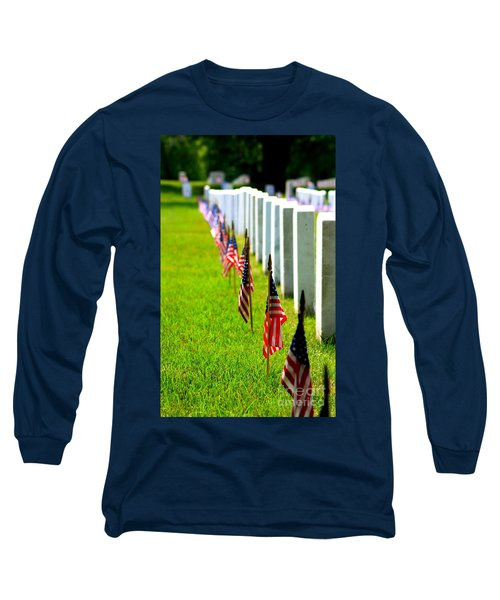 Flags In Long Sleeve T-Shirt