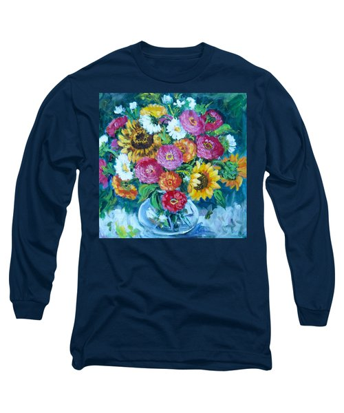 Floral Explosion No.1 Long Sleeve T-Shirt
