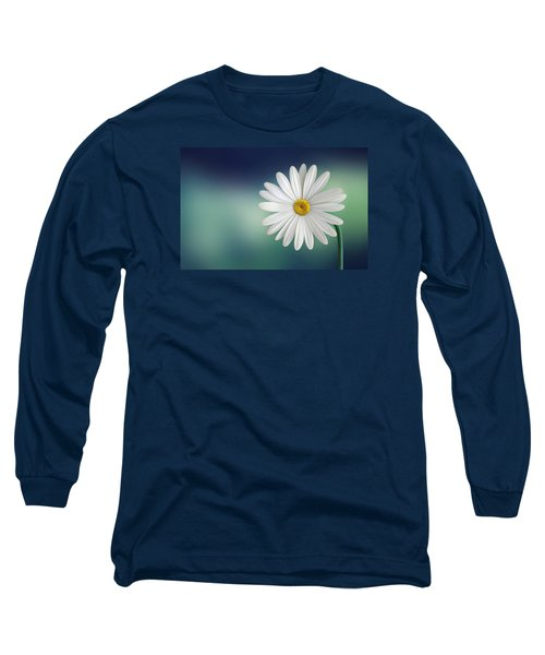 Flower Long Sleeve T-Shirt by Bess Hamiti