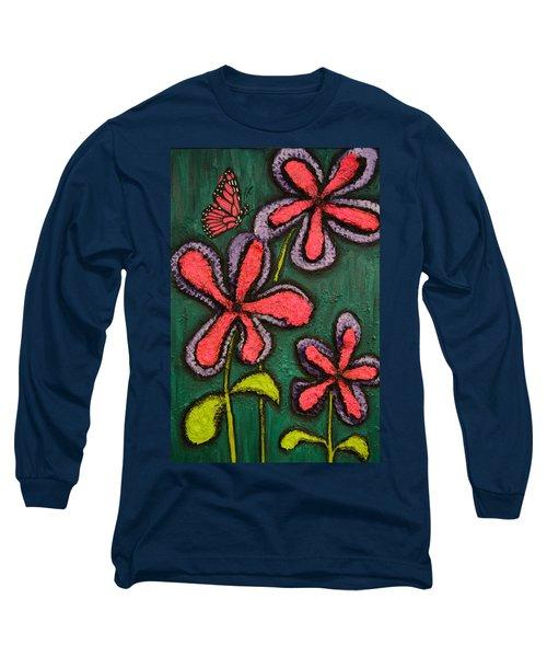 Flowers 4 Sydney Long Sleeve T-Shirt by Shawn Marlow