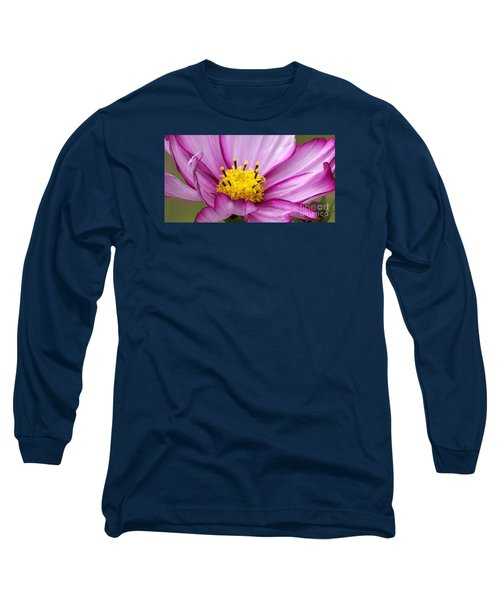 Flowers For The Wall Long Sleeve T-Shirt by Eunice Miller