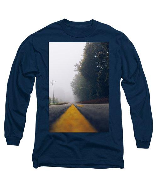 Fog On Highway Long Sleeve T-Shirt