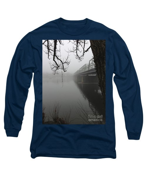 Foggy Morning In Paradise - The Bridge Long Sleeve T-Shirt