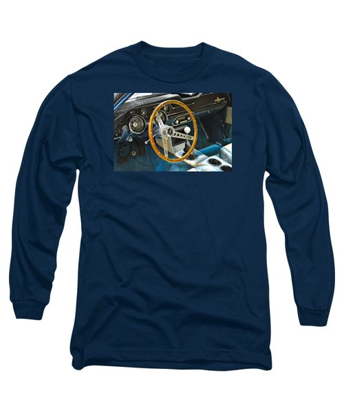 Ford Mustang Shelby Long Sleeve T-Shirt by Pamela Walrath