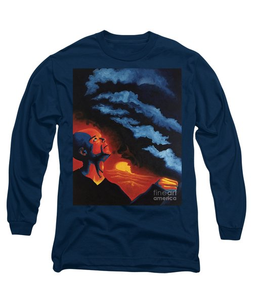Foreseen Long Sleeve T-Shirt by Michael  TMAD Finney