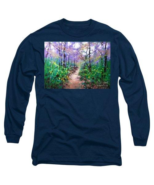 Forest Of Summer Long Sleeve T-Shirt