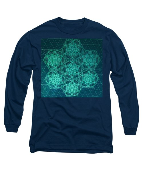 Fractal Interference Long Sleeve T-Shirt