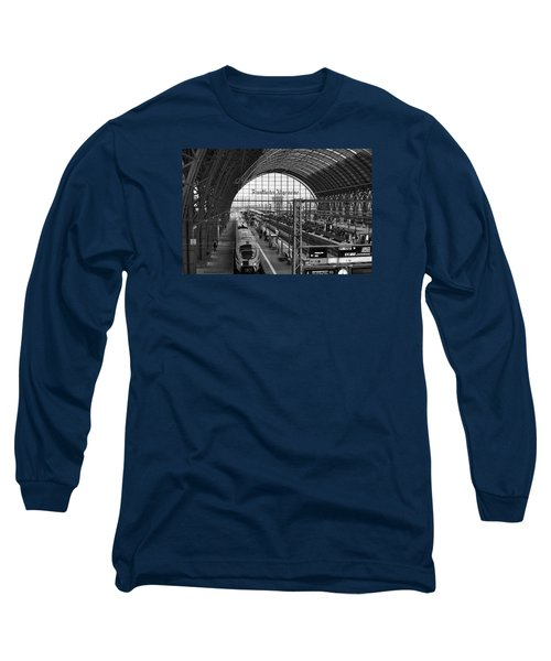 Frankfurt Bahnhof - Train Station Long Sleeve T-Shirt