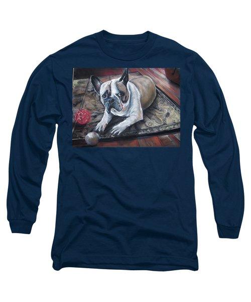 french Bull dog Long Sleeve T-Shirt