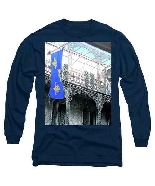 Long Sleeve T-Shirt featuring the photograph French Quarter Nola by Lizi Beard-Ward