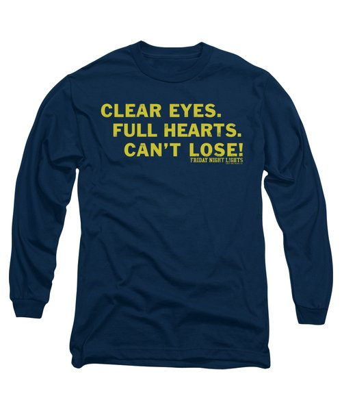 Friday Night Lights - Clear Eyes Long Sleeve T-Shirt