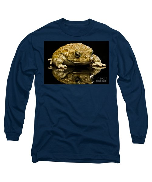 Long Sleeve T-Shirt featuring the photograph Frog by Gunnar Orn Arnason