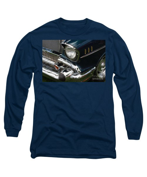 Front Side Of A Classic Car Long Sleeve T-Shirt