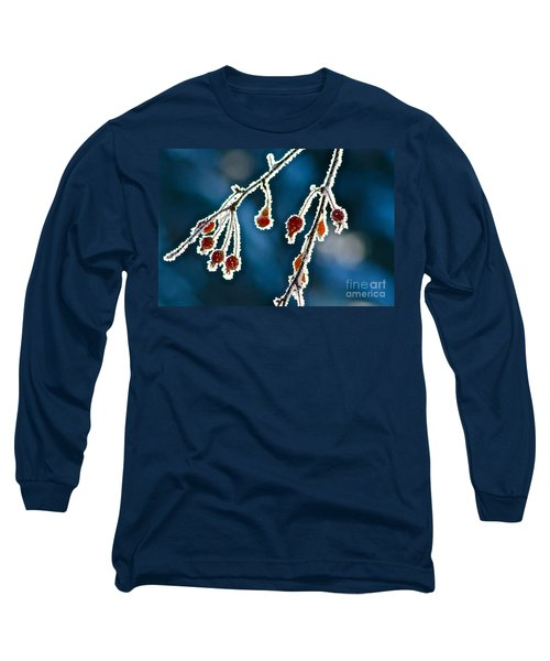 Frosted Long Sleeve T-Shirt by Linda Bianic
