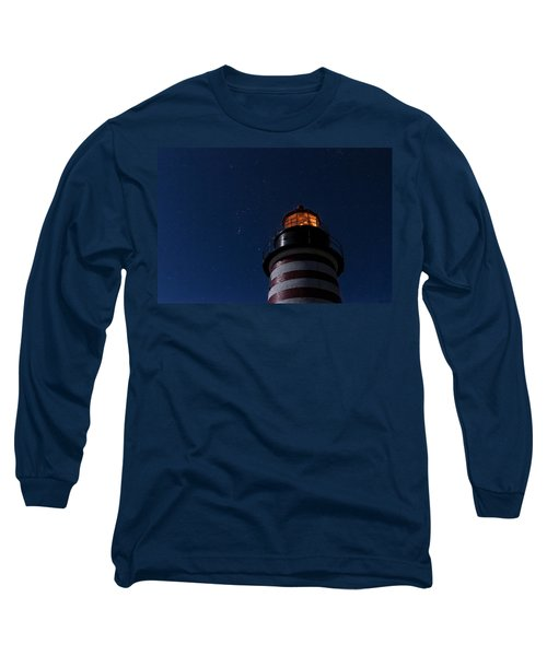 Full Moon On Quoddy Long Sleeve T-Shirt