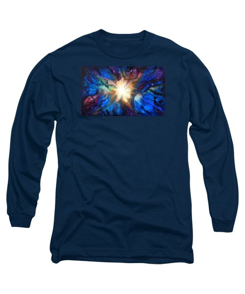 Flor Boreal Long Sleeve T-Shirt by Angel Ortiz