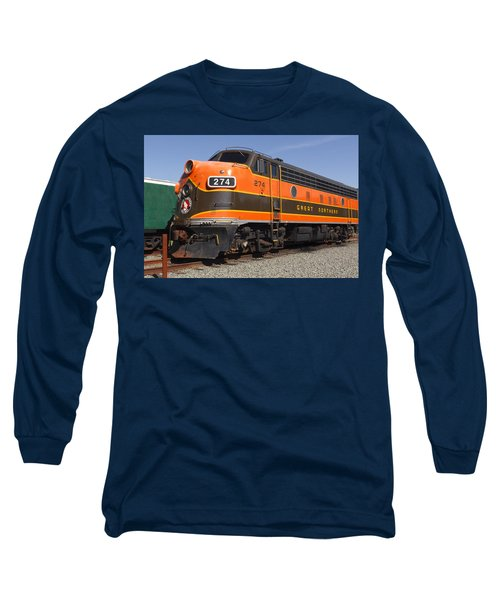Garibaldi Locomotive Long Sleeve T-Shirt by Wes and Dotty Weber