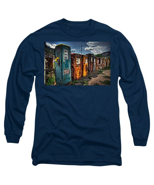 Long Sleeve T-Shirt featuring the photograph Gasoline Alley by Ken Smith