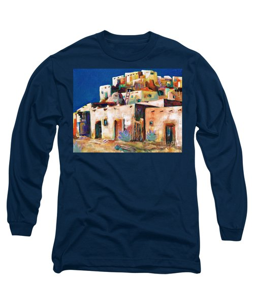 Gateway Into  The  Pueblo Long Sleeve T-Shirt