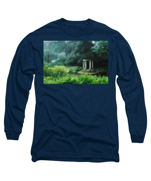 Gazebo Longwood Gardens Long Sleeve T-Shirt