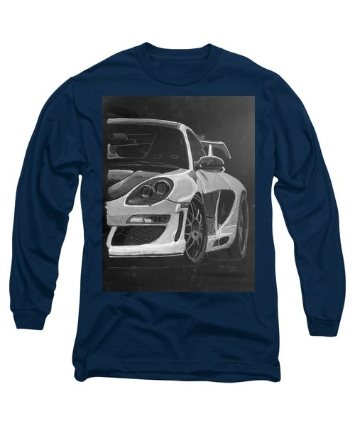 Gemballa Porsche Left Long Sleeve T-Shirt