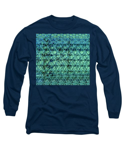 Geometrical Steel Long Sleeve T-Shirt