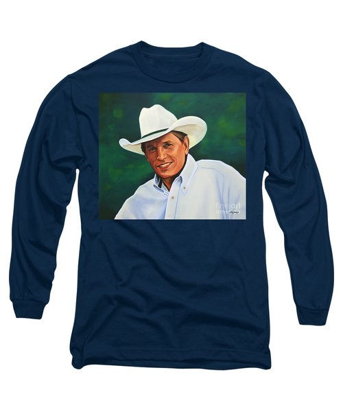 George Strait Long Sleeve T-Shirt