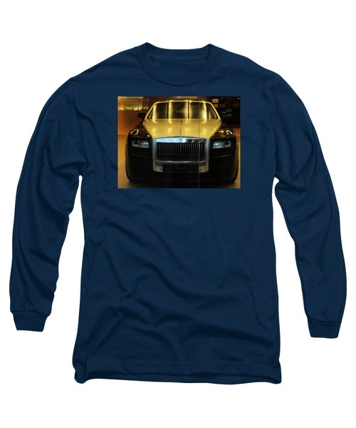 Rolls Royce Ghost Long Sleeve T-Shirt