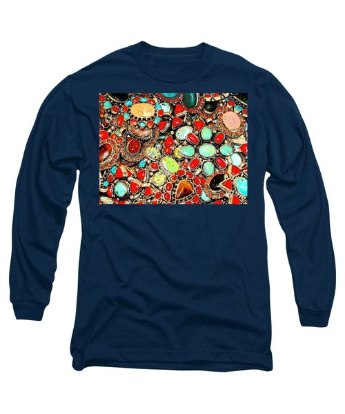 Long Sleeve T-Shirt featuring the photograph Glamorous Glitter by Ira Shander