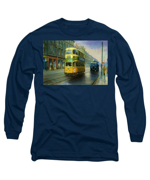 Glasgow Tram. Long Sleeve T-Shirt