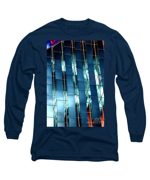 Long Sleeve T-Shirt featuring the photograph Glass House II by Christiane Hellner-OBrien