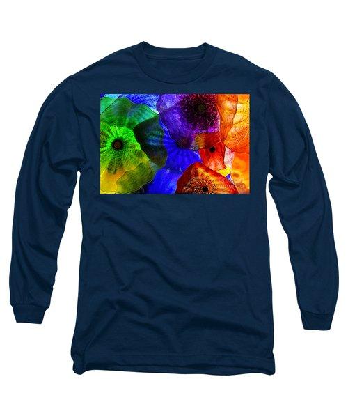 Glass Palette Long Sleeve T-Shirt by Kasia Bitner