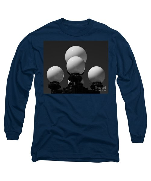 Long Sleeve T-Shirt featuring the photograph Globes by Linda Bianic