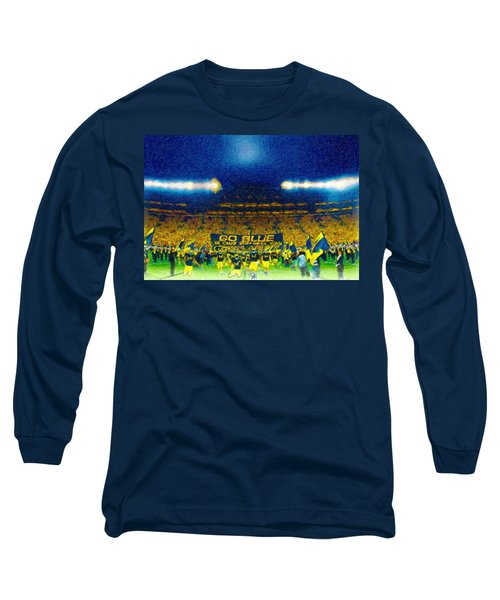 Glory At The Big House Long Sleeve T-Shirt by John Farr