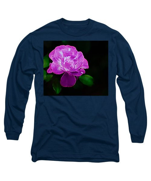 Glowing Rose II Long Sleeve T-Shirt