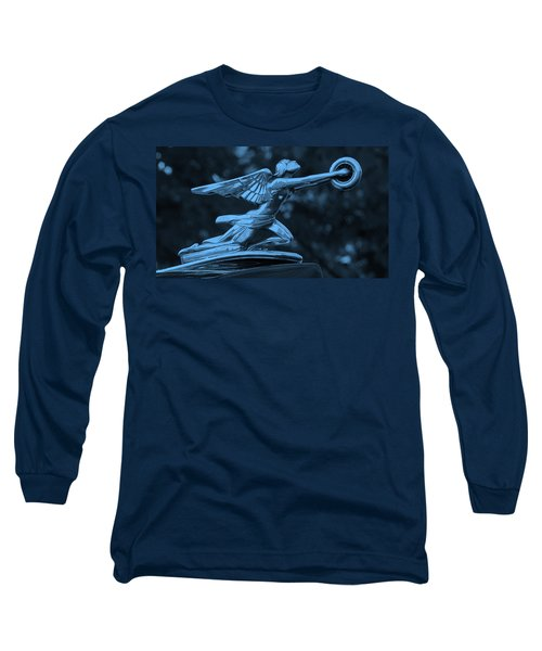 Long Sleeve T-Shirt featuring the photograph Goddess Hood Ornament  by Patrice Zinck