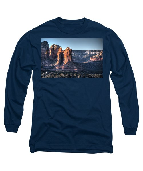 Long Sleeve T-Shirt featuring the photograph Golden Buttes by Lynn Geoffroy