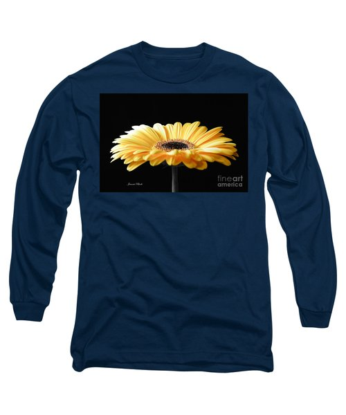Golden Gerbera Daisy No 2 Long Sleeve T-Shirt