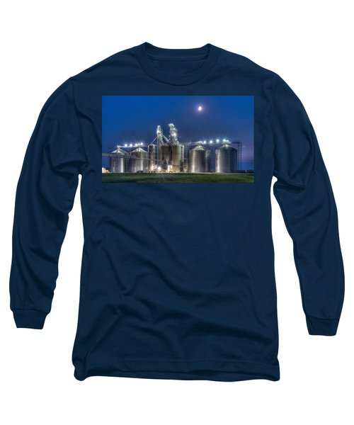 Grain Processing Plant Long Sleeve T-Shirt by Paul Freidlund