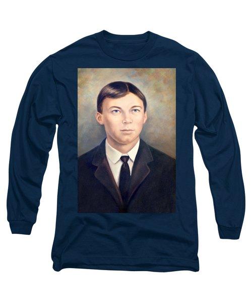Grandfather Long Sleeve T-Shirt by Susan Leggett