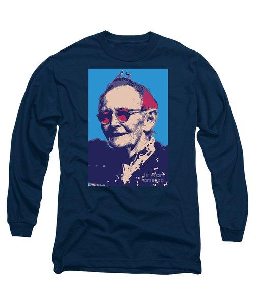 Grandma Moses Long Sleeve T-Shirt by Gerhardt Isringhaus