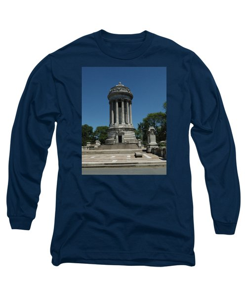 Soldier's And Sailor's Monument New York City Long Sleeve T-Shirt