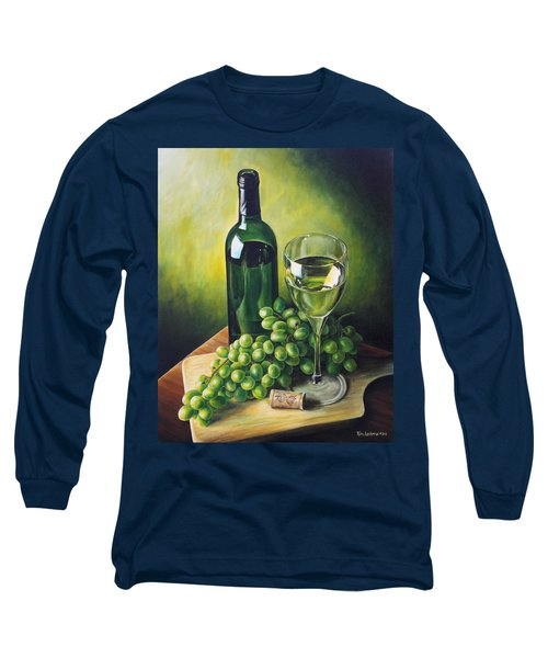 Grapes And Wine Long Sleeve T-Shirt