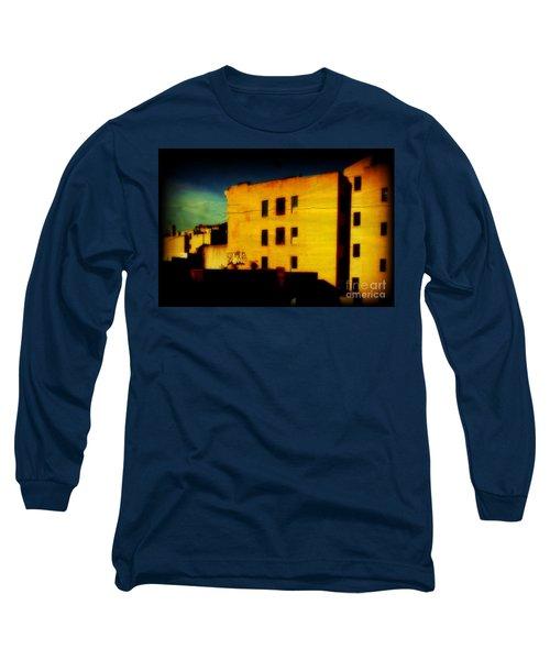 Long Sleeve T-Shirt featuring the photograph Green Sky by Miriam Danar