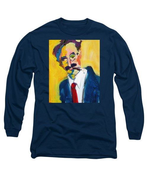 Groucho Long Sleeve T-Shirt by Les Leffingwell