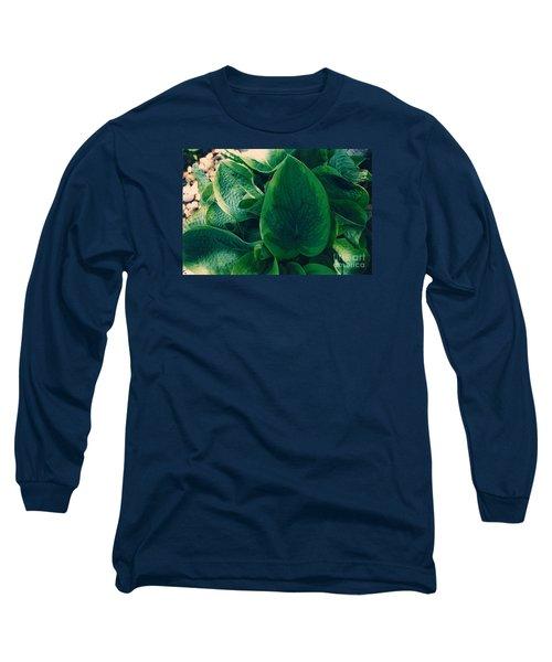 Guacamole Hosta Long Sleeve T-Shirt