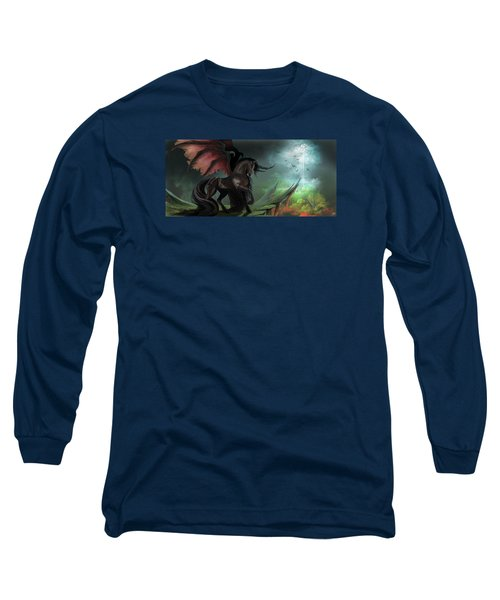 Guardians Long Sleeve T-Shirt by Kate Black
