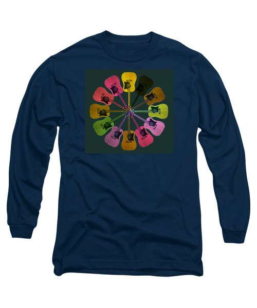Guitar O Clock Long Sleeve T-Shirt