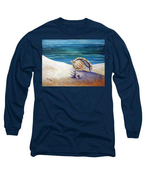 Gulf Shores And Shells II Long Sleeve T-Shirt
