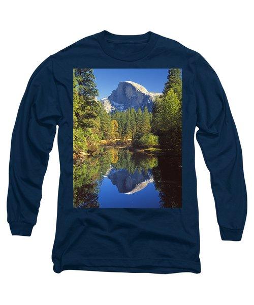 2m6709-half Dome Reflect - V Long Sleeve T-Shirt
